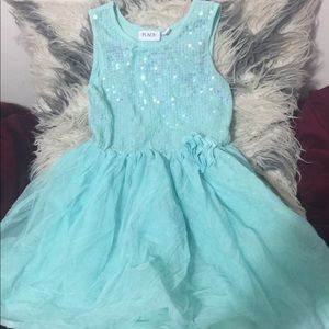 Baby blue girly dress